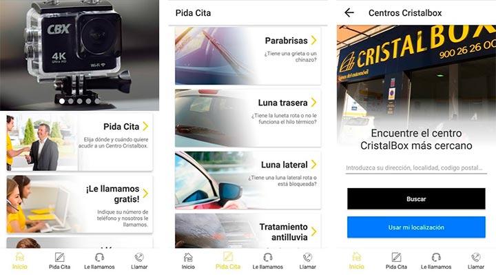Cristalbox, app para conductores en android e iOS