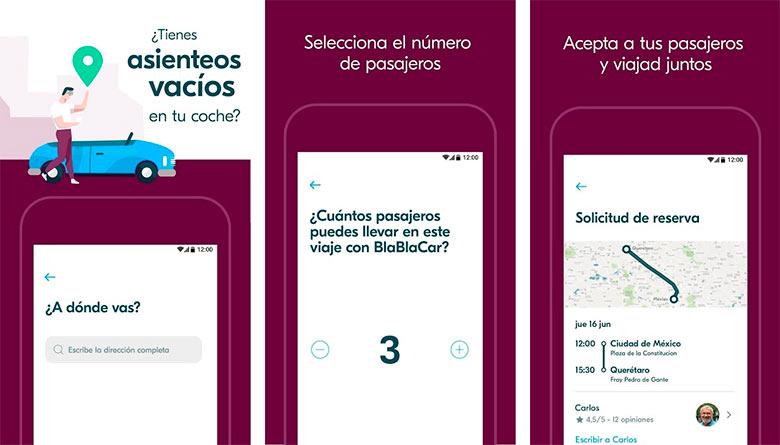 BlaBlaCar, app para ahorrar en la carretera