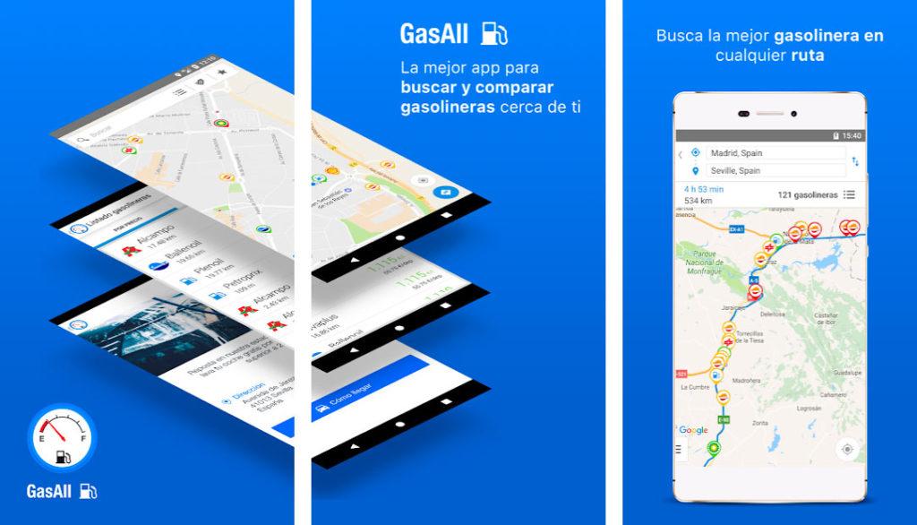 GasAll, app para ahorar en combustible
