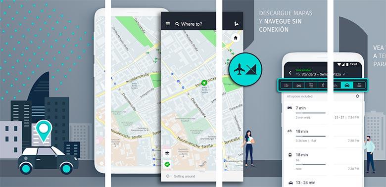 Here WeGo, app para conductores en Android e iOS