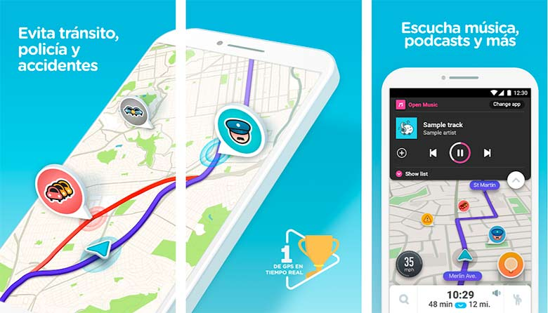 Waze, app para conductores en Android e iOS